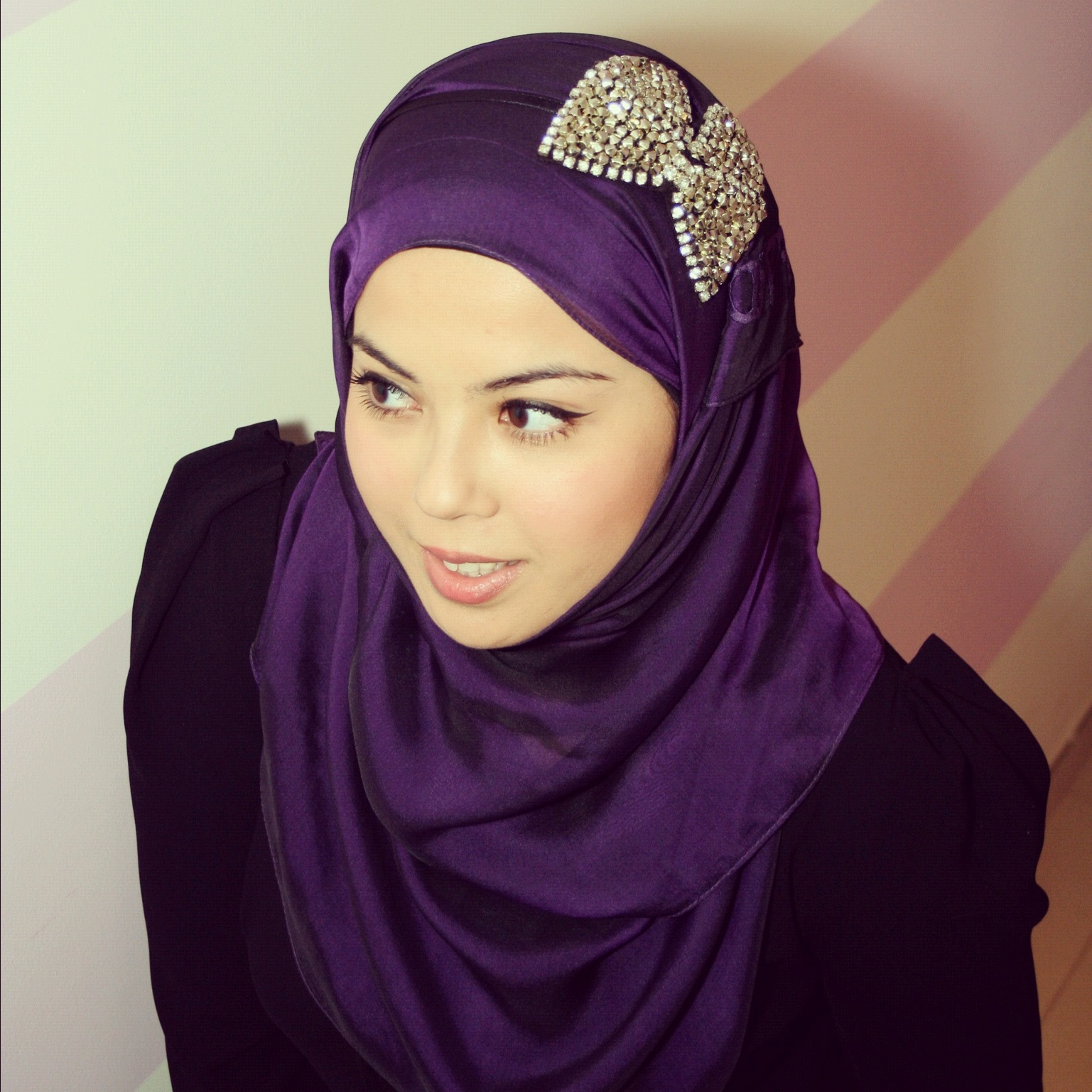 stylish elegant hijab