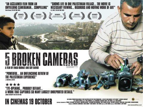 5 Broken Cameras- Emad Burnat
