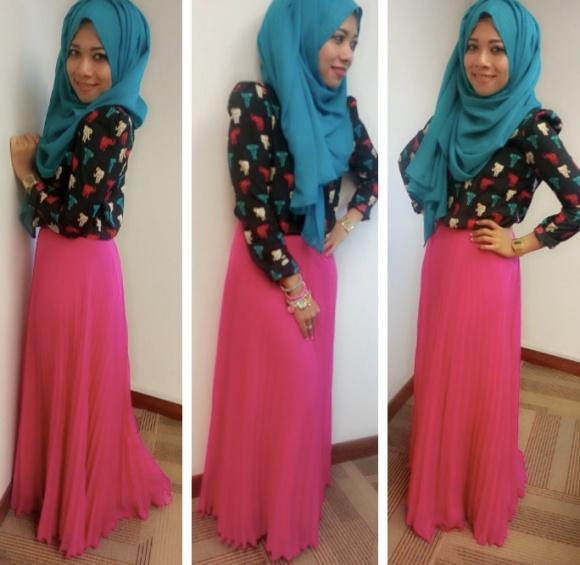 hijab street styling