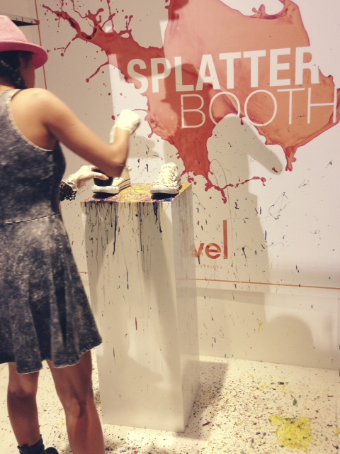 Sole DXB splatter booth