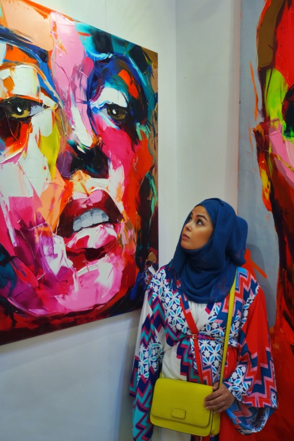 world art dubai 2015