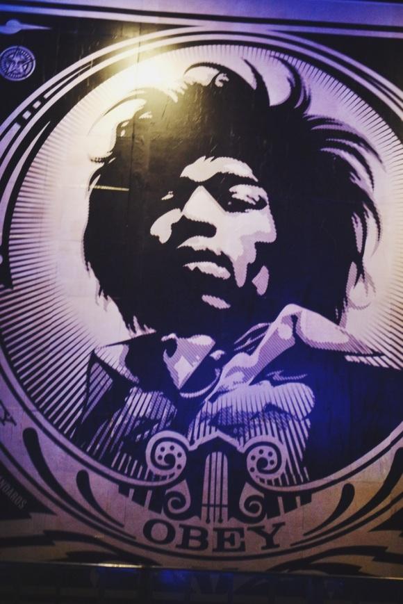 Jimi Hendrix Obey